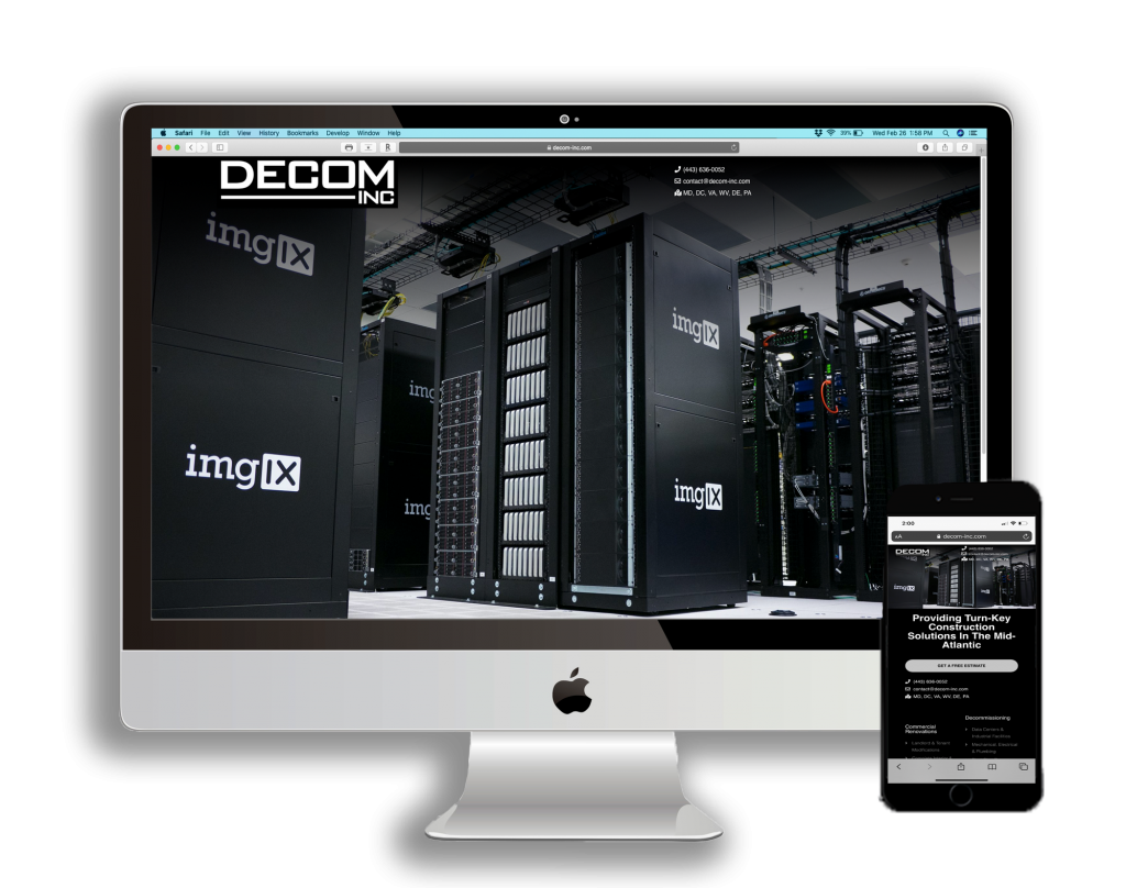 Data Center Decommissioning Website