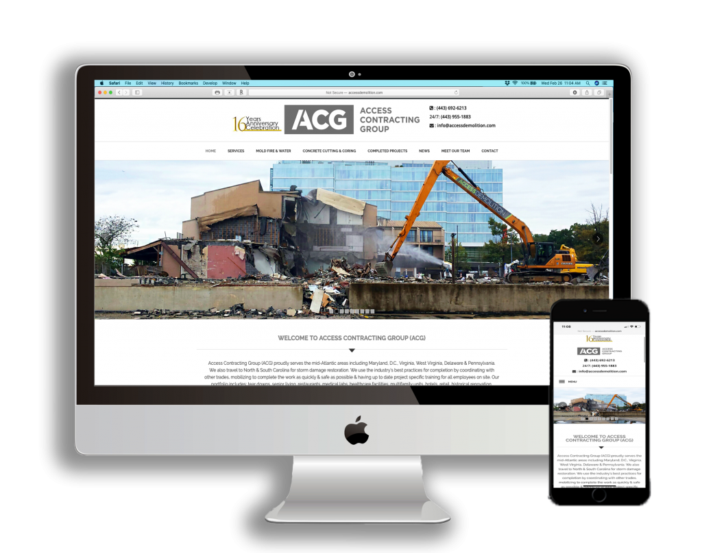 New Demolition Contractor Website